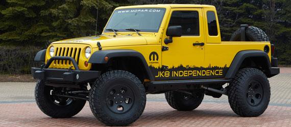 Mopar Jeep JK 8 Description