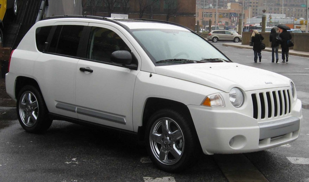 White Jeep Compass Jeep Enthusiast