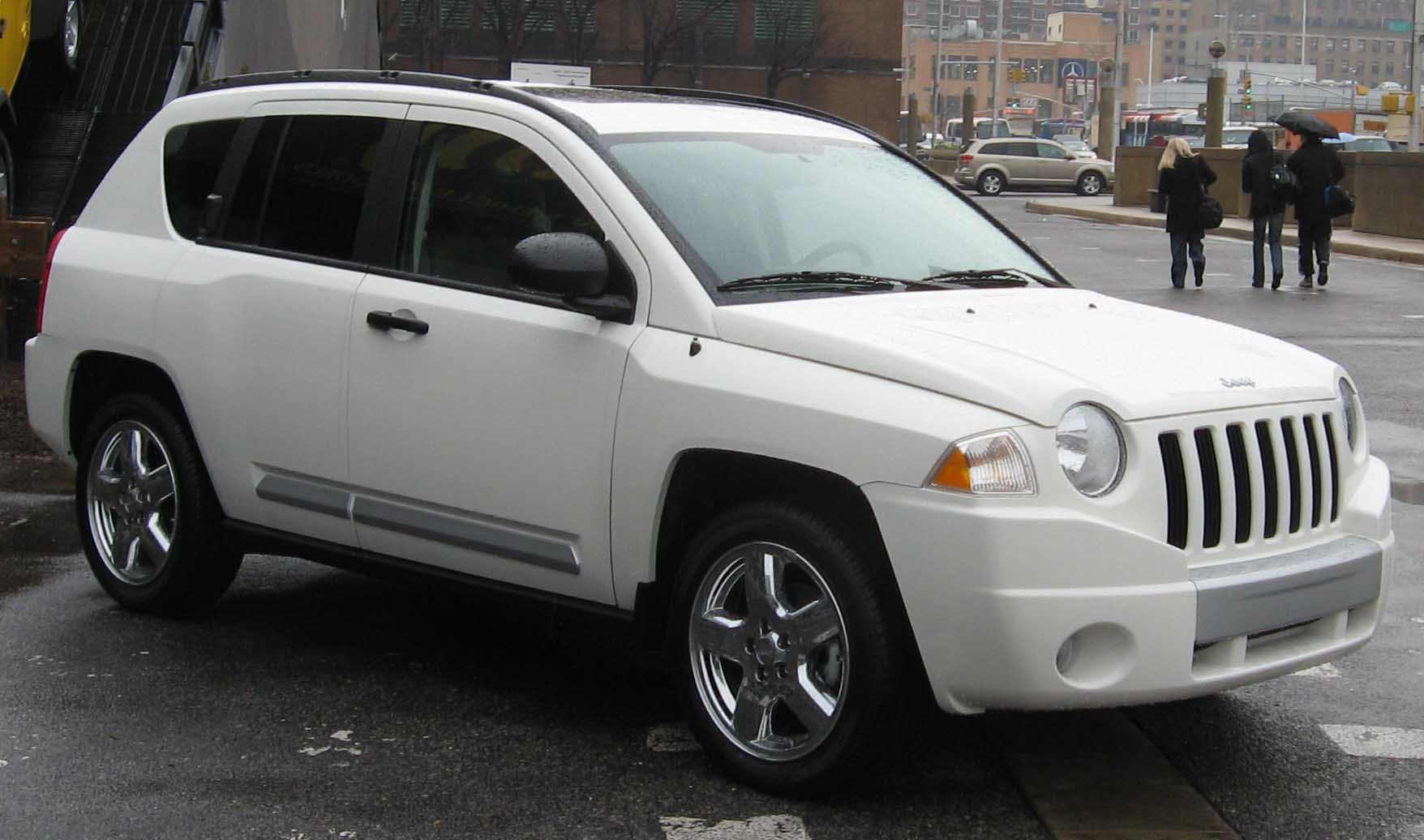 white jeep compass | jeep enthusiast