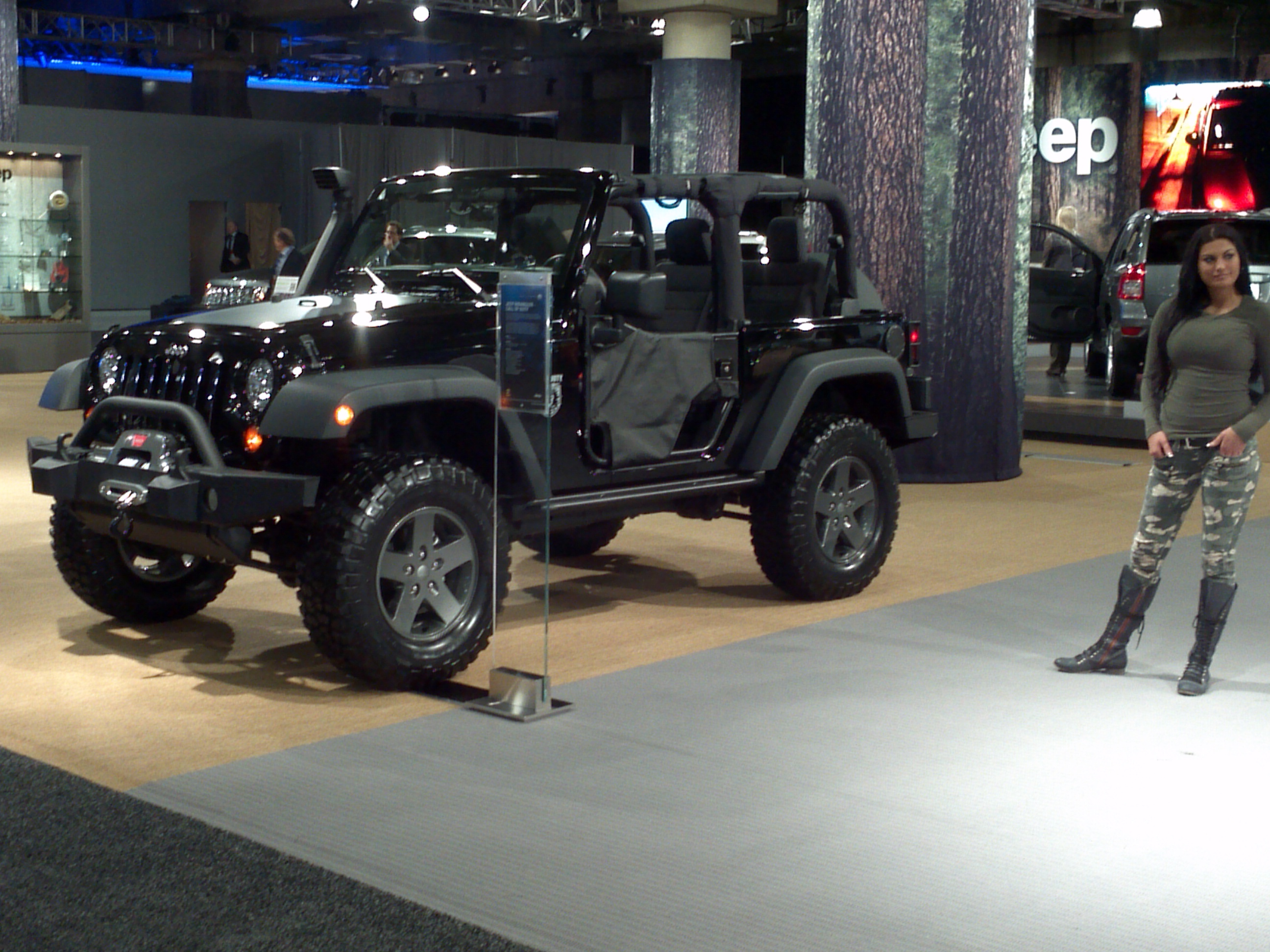A 'Sexy' Jeep Wrangler Call of Duty Black Ops | Jeep ...