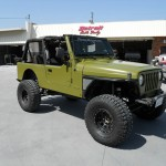Army Jeep Flat Green