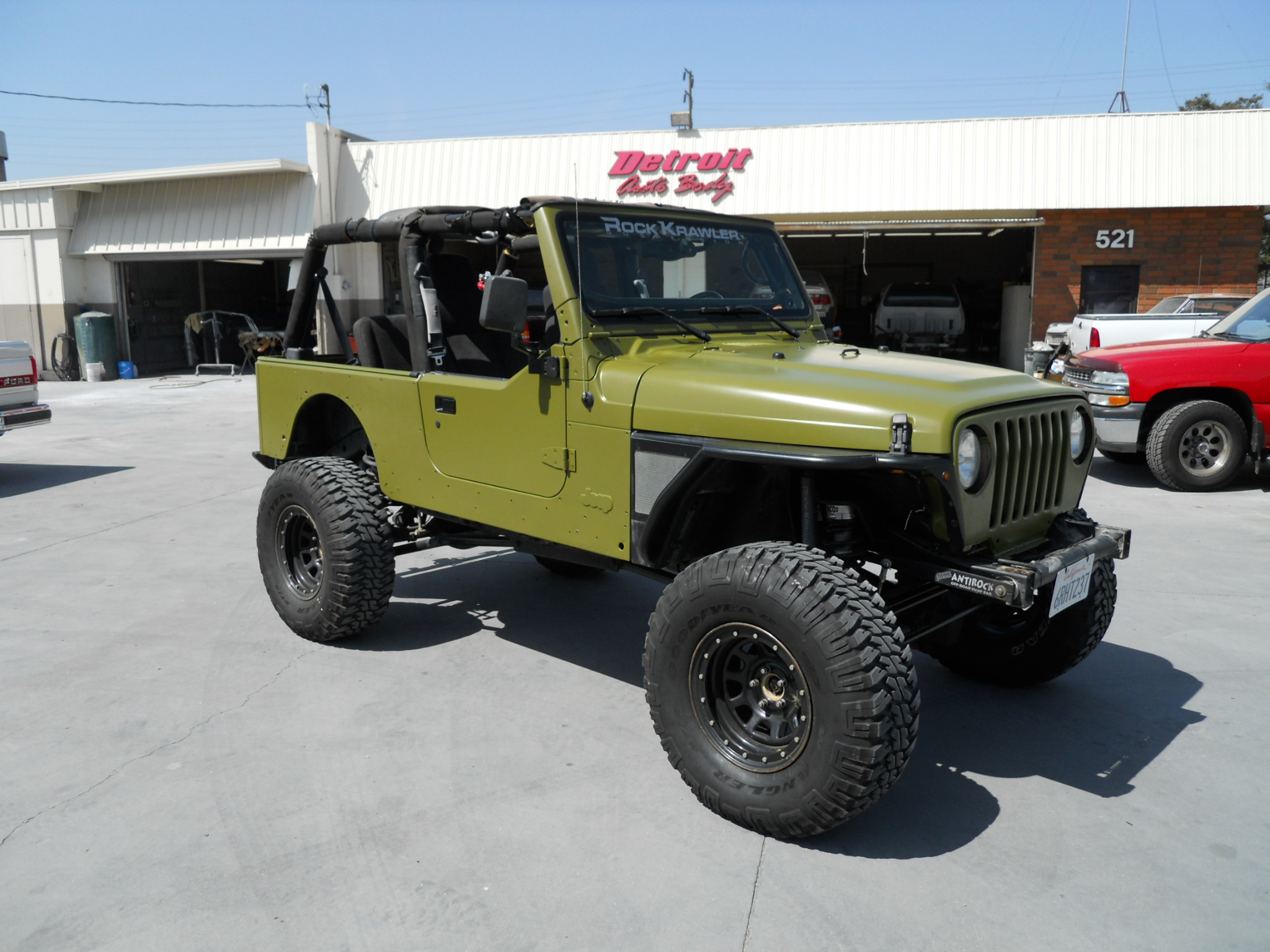 Army Jeep Flat Green Jeep Enthusiast