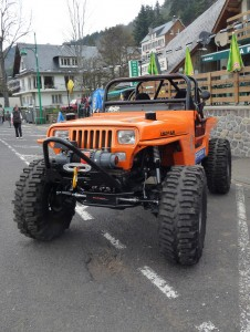 Big Foot Jeep YJ