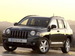Black Jeep Compass