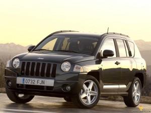 Black Jeep Compass