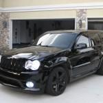 Black Jeep SRT8