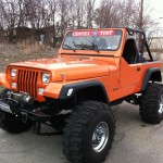 Custom Built Jeep YJ With Comal Customs Vortex Spray