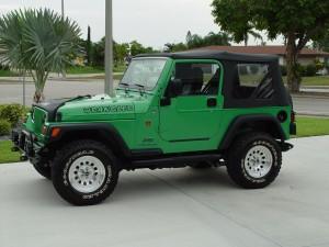 Green Wrangler