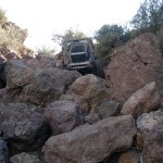 Jeep At Big Rocks
