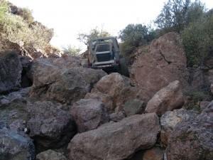 Jeep At Big Rocks