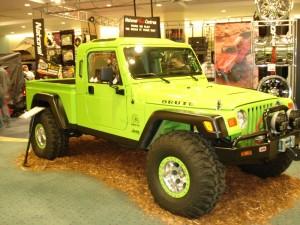 Jeep Brute at Auto Show