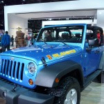 Jeep Islander Wrangler at Detroit Auto Show 2010