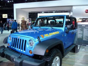 Jeep Islander Wrangler at Detroit Auto Show 2010