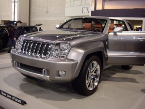 Jeep Trailhawk Concept Car
