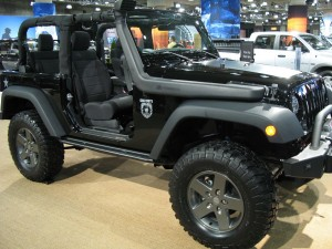 Jeep Wrangler at New York International Auto Show 2011