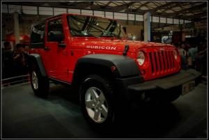 Jeep Wrangler at Shanghai Auto Show