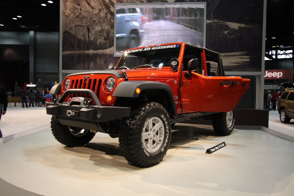 Lovely Jeep Wrangler With Mopar Accessories