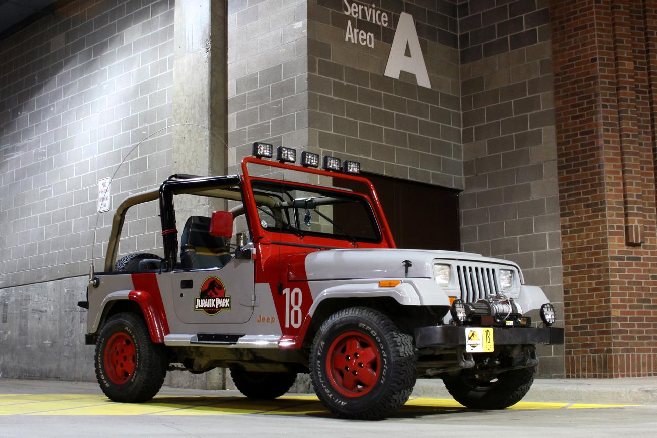 jurassic park jeep yj replica | jeep enthusiast