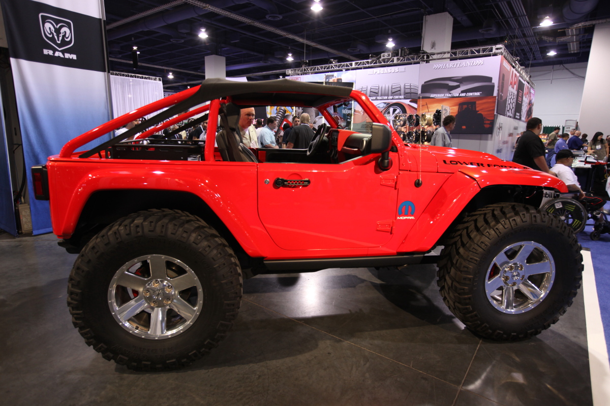 Mopar Jeep Lower Forty Concept At Auto Show Jeep Enthusiast