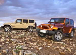 Twin Jeep Wrangler 2011