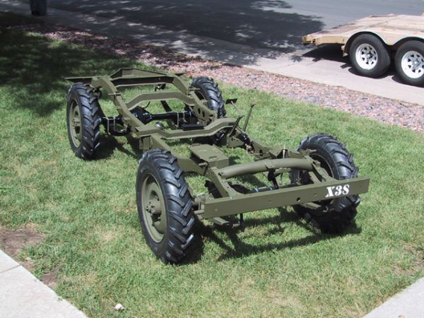 Extrêmement Willys 1944 Chassis | Jeep Enthusiast MJ81