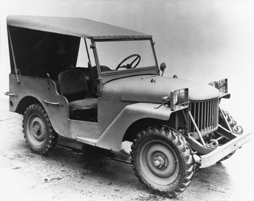1940 willys quad Jeep History (1940s)