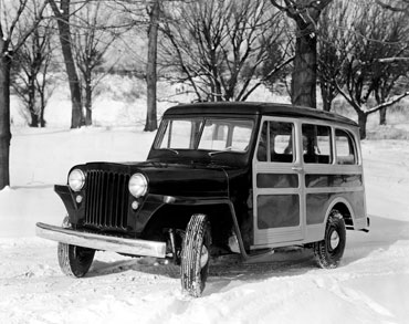 1946 1965 willys wagon 1 Jeep History (1940s)