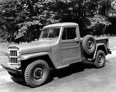 1947 1965 willys overland truck 1 Jeep History (1940s)