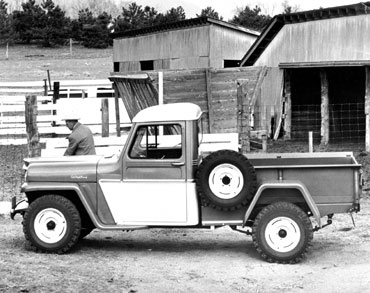 1947 1965 willys overland truck 2 Jeep History (1940s)