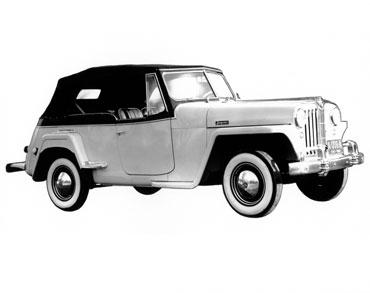1948 1951 jeep jeepster vj 1 Jeep History (1940s)