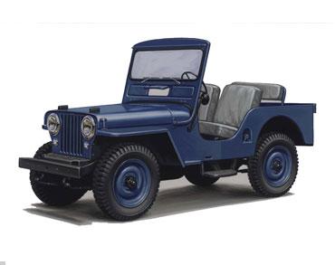 1949 1953 jeep cj 3A Jeep History (1940s)