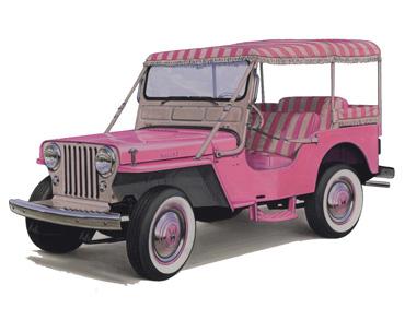 1950 dj 3a gala surrey Jeep History (1950s)