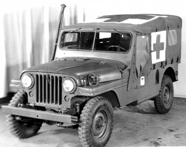 1953 1964 jeep m 170 2 Jeep History (1950s)