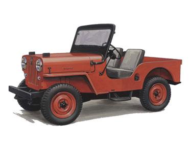 1953 1968 jeep cj 3B universal 1 Jeep History (1950s)