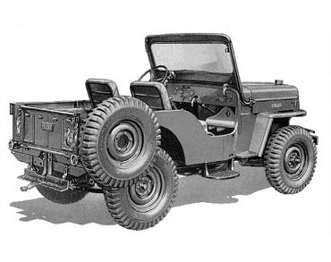1953 1968 jeep cj 3B universal 2 Jeep History (1950s)