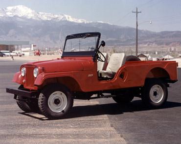 1955 1975 jeep cj 6 1 Jeep History (1950s)