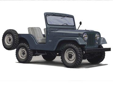 1955 1983 jeep cj 5 1 Jeep History (1950s)