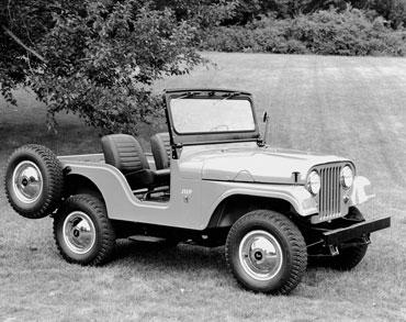 1955 1983 jeep cj 5 2 Jeep History (1950s)