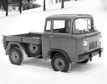 1957 1965 jeep fc 150 1 Jeep History (1950s)