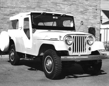 1960 cj 5a cj 6a tuxedo park Jeep History (1960s)