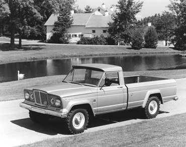 1960 j 3000 truck sj Jeep History (1960s)
