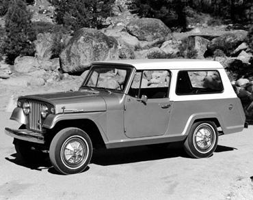 1960 jeepster commando station wagon c 101 Jeep History (1960s)