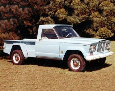 1963 1987 jeep gladiator j series truck 01 Jeep History (1960s)