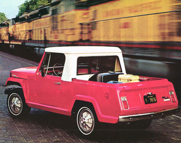 1967 1973 jeepster commando c 101 03 Jeep History (1960s)