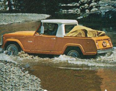 1967 1973 jeepster commando c 101 04 Jeep History (1960s)