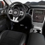 Jeep Grand Cherokee SRT8 2012 Interior