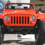 Jeep Lower Forty Concept at Front View