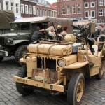Jeep Willys MB That Used by The Red Cross