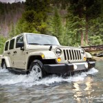 Jeep Wrangler 2011 at River